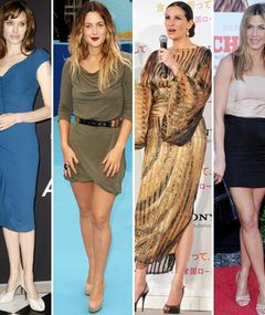 Angelina, Drew, Julia &amp; Jen -- Style Showdown!