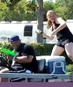 "Video: ""American Idol"" Water Balloon Fight!"