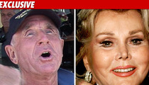 Zsa Zsa's Husband -- Bedridden After 'Blacking Out'