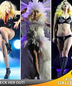 Lady Gaga's Crazy Costumes