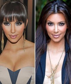 Kim Kardashian's Bangs -- Yay or Nay?