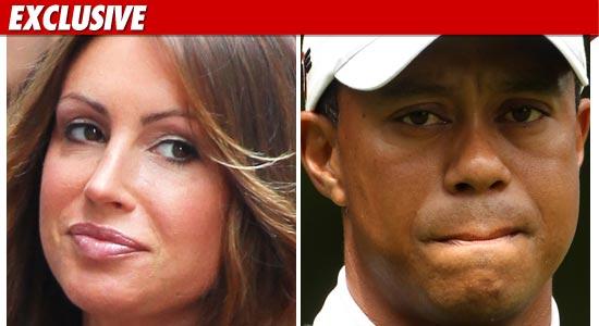 Rachel Uchitel, Tiger Woods