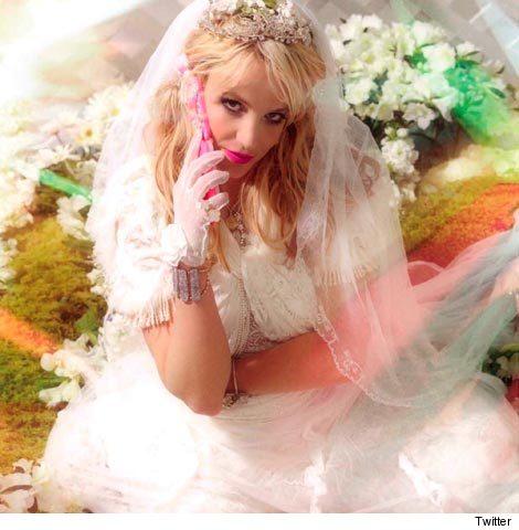 Britney Spears Wedding Dress