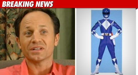 Blue Power Ranger Gay