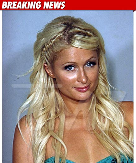 Celebrity mugshot paris hilton