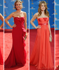 Emmy Style Showdown: Red Dresses