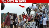 Chris Brown Flips Out -- Caught on Tape!