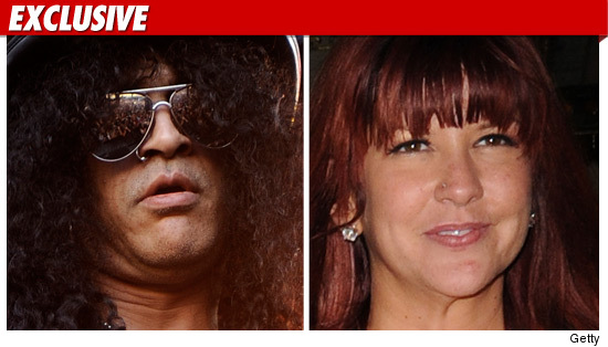 Slash calls off his divorce: 
