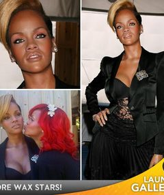 Rihanna Gets Waxed