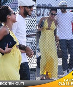 Alicia Keys -- The Pregnancy Glow