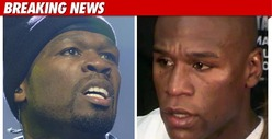 50 Cent: Mayweather's Baby Mama Just Wants Money