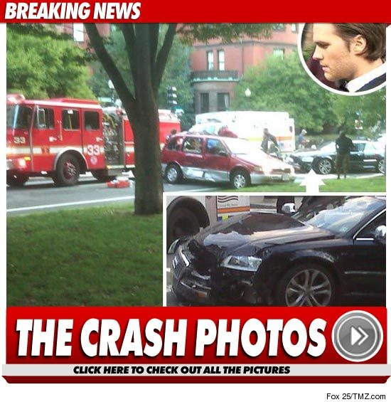Tom Brady Car Accident