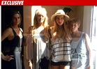 Lindsay Lohan -- Reunited with Fam