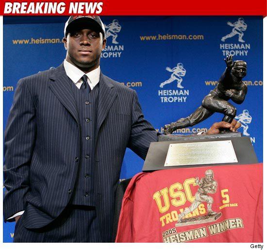 Regiie Bush Heisman Trophy