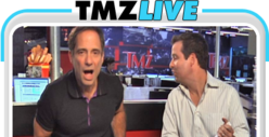 TMZ Live: Lindsay, Oksana, and Adam Lambert