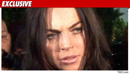 Lindsay Lohan back to jail.