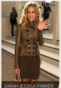 SJP Hits London Fashion Week