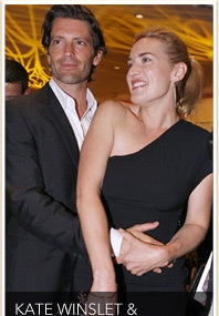 Winslet Goes Public with New Man