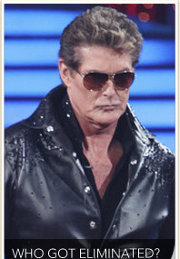 "The Hoff Eliminated from ""Dancing"""