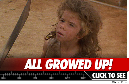 The Feral Kid in 'The Road Warrior': 'Memba Him?