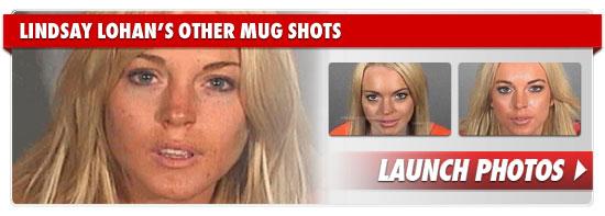 Lindsay Lohan Mug Shots.