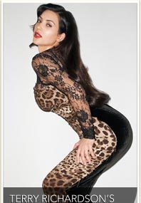 Kim K. In Leopard and Lace!