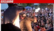Paul Wall Beats Fan with a Microphone
