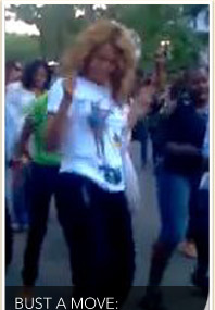 Beyonce's Block Party Boogie!