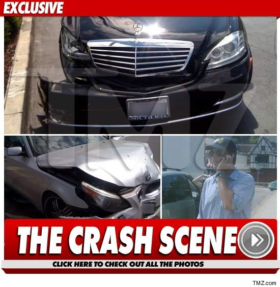 Michael Weatherly car accident.