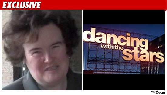 Susan Boyle Dancing with the Stars