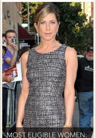 Jen Aniston Voted Most Eligible