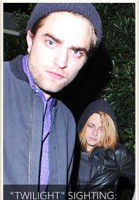 Date Night for Pattinson & Stewart