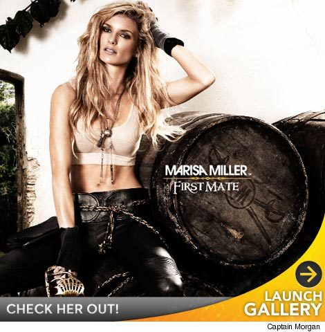 Sorry Johnny Depp, there's a new sexy pirate on the block. Marisa Miller