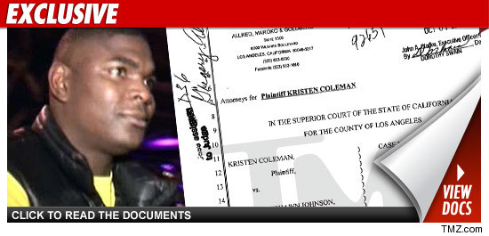 Keyshawn Johnson sued.