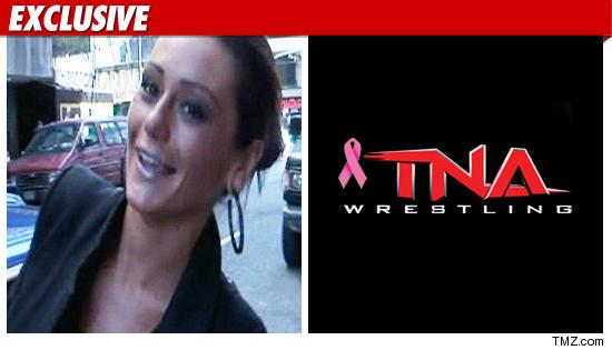 Jwoww TNA Wrestling