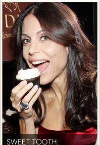 Bethenny Frankel Indulges Her Sweet Tooth