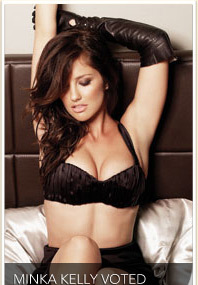 Minka Kelly Voted Sexiest Woman Alive!