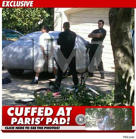 Paris Hilton Suspect -- Turn Your Head and Cuff
