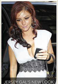 Jwoww Cleans Up Good!