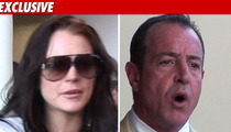Lindsay Lohan -- 'Disgusted' with Michael's Antics