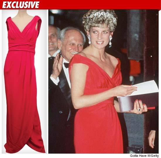 Princess Diana dress.