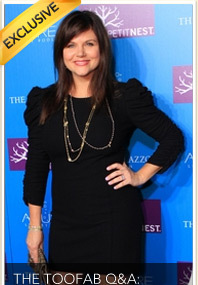 The TooFab Q&A: Tiffani Thiessen!