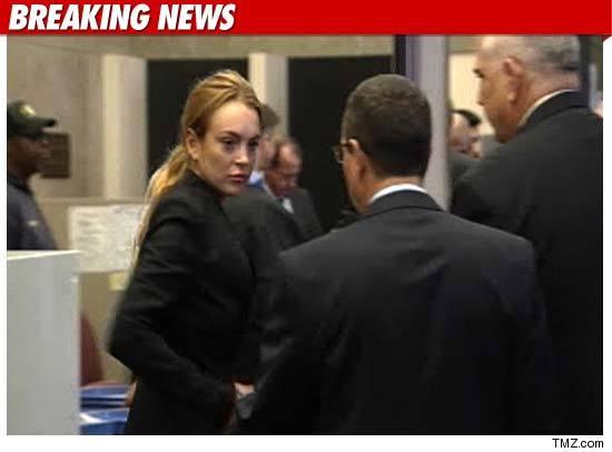 Lindsay Lohan rehab.