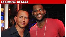 A-Rod Mourns Playoff Loss with LeBron