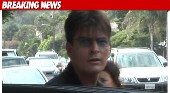 Charlie Sheen hospitalization.