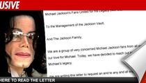 MJ Fan Group Gunning to Shut Down Vault Website