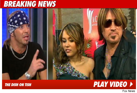 Brett Michaels, Miley Cyrus: