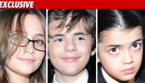 Michael Jackson's Kids -- Not in Joe's Line of Fire