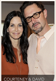 Courteney & David Reunite