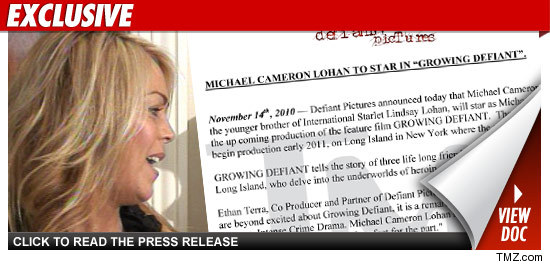 Dina Lohan Heroin Movie